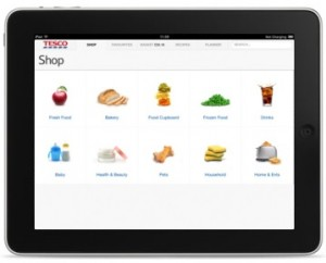 Tesco iPad App